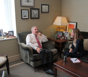 Elisa Birnbaum interviews the Right Honourable Paul Martin at his office in Montreal