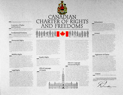 Sexual orientation charter of rights and freedoms definition
